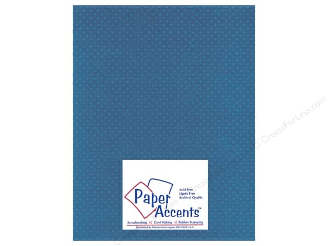 Cardstock 8 1/2 x 11 in. Mini Dot Delphinium by Paper Accents (25 sheets)