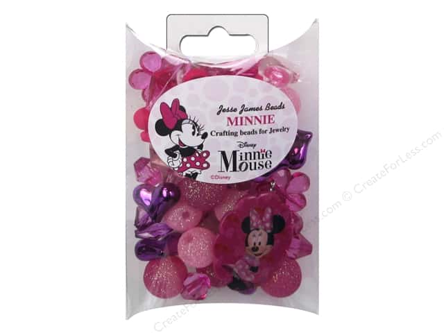 Jesse James Kit Jewelry Bead Disney Minnie Mouse