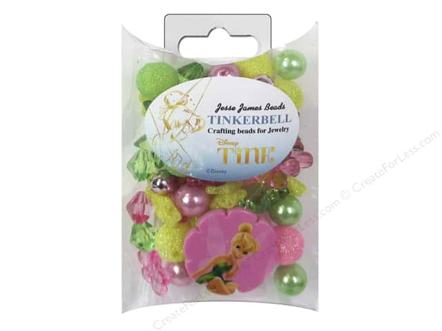 Jesse James Kit Jewelry Bead Disney Tinkerbell
