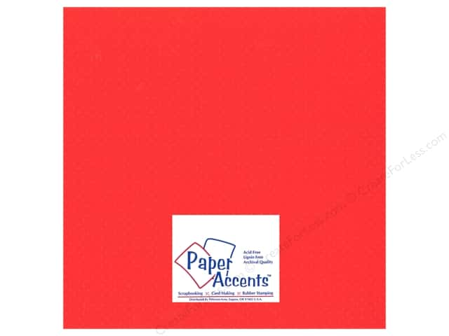 Paper Accents Cardstock 12 x 12 in. #32208 Mini Dot Chinese Lantern (25 sheets)