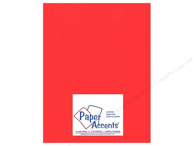 Paper Accents Cardstock 8 1/2 x 11 in. #32208 Mini Dot Chinese Lantern (25 sheets)