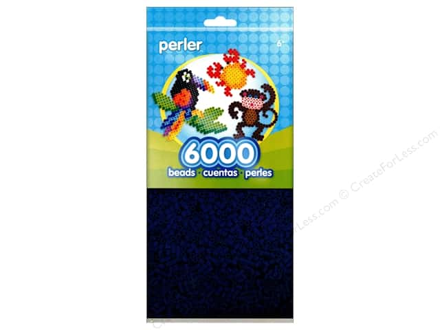 Perler Bead 6000 pc. Dark Blue