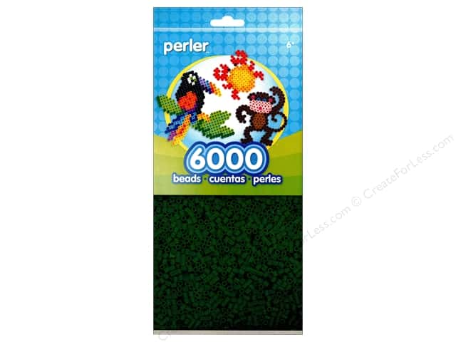 Perler Bead 6000 pc. Dark Green