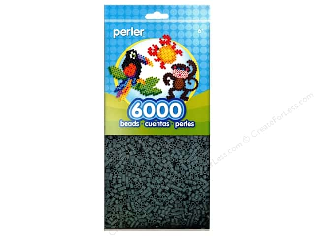 Perler Beads 6000 pc. Grey