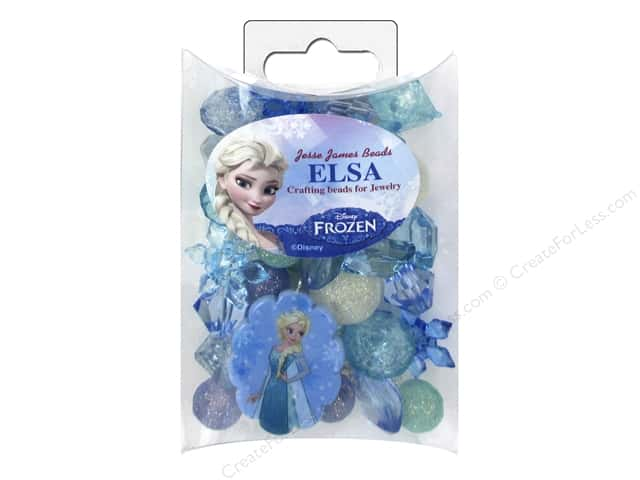 Jesse James Kit Jewelry Bead Disney Frozen Elsa