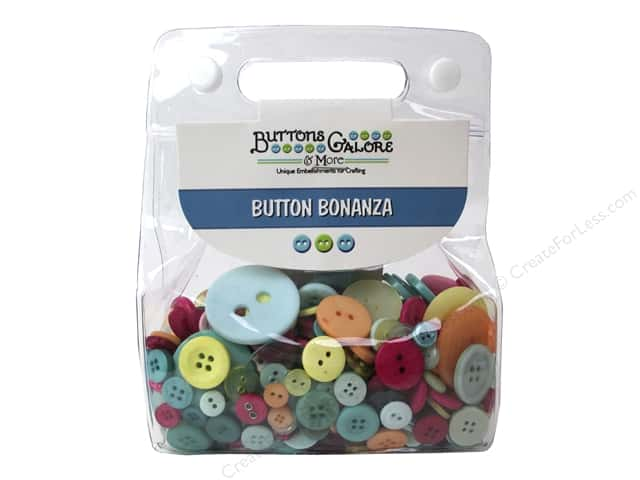 Buttons Galore Button Bonanza 1/2 lb. Summertime