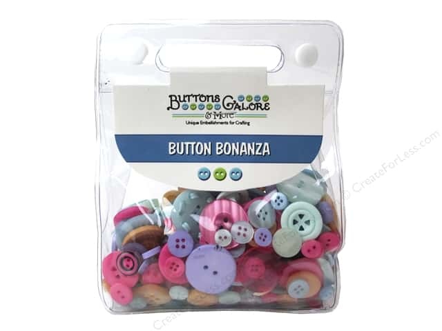 Buttons Galore Button Bonanza 1/2 lb. Sherbet