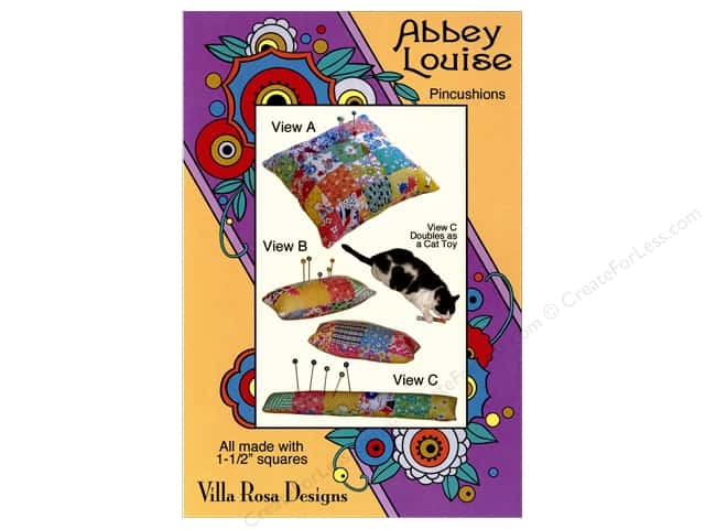 Villa Rosa Designs Abbey Louise Pincushion Pattern Card