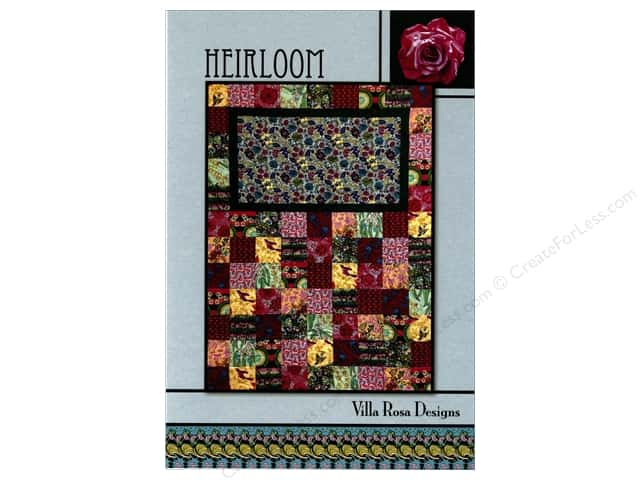 Villa Rosa Designs Heirloom Pattern Card