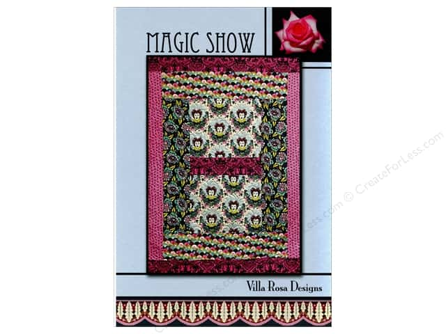 Villa Rosa Designs Magic Show Pattern Card
