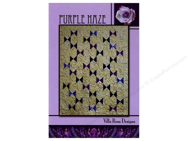 Villa Rosa Designs Purple Haze Pattern Card