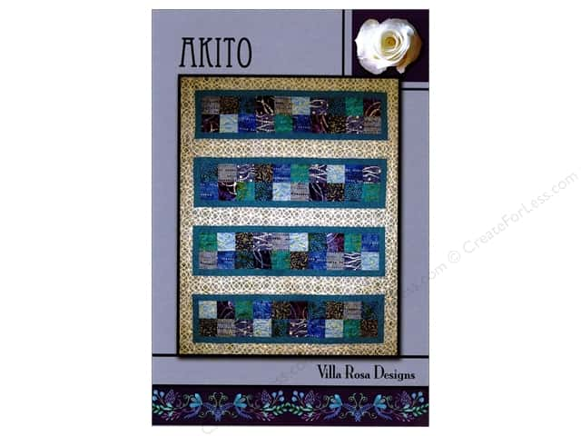 Villa Rosa Designs Akito Pattern Card