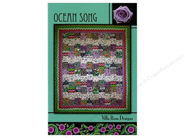Villa Rosa Designs Ocean Song Pattern Card