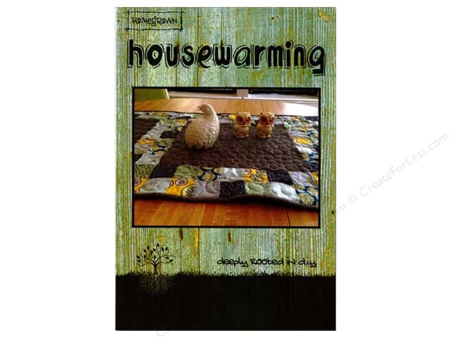 Villa Rosa Designs Housewarming Table Runner Pattern Card