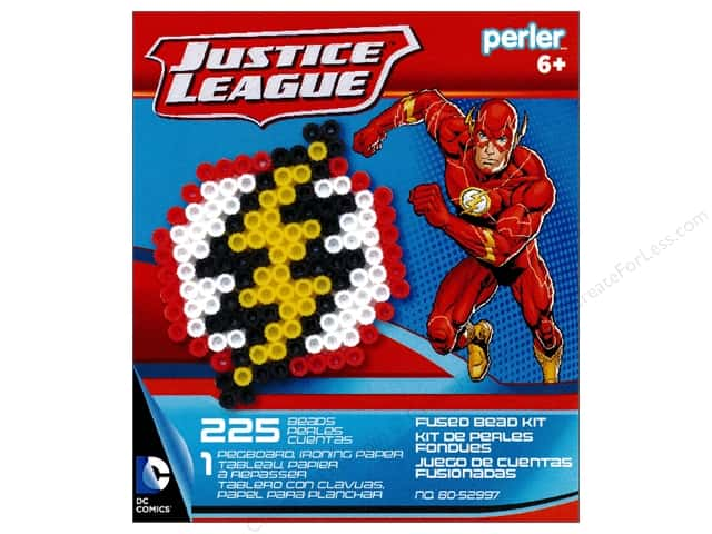 Perler Fused Bead Kit Justice League Flash