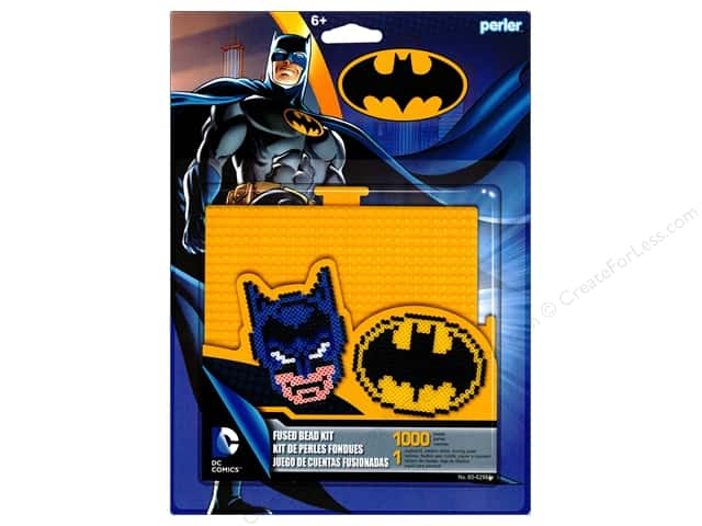 Perler Fused Bead Kit Large Batman 1000pc