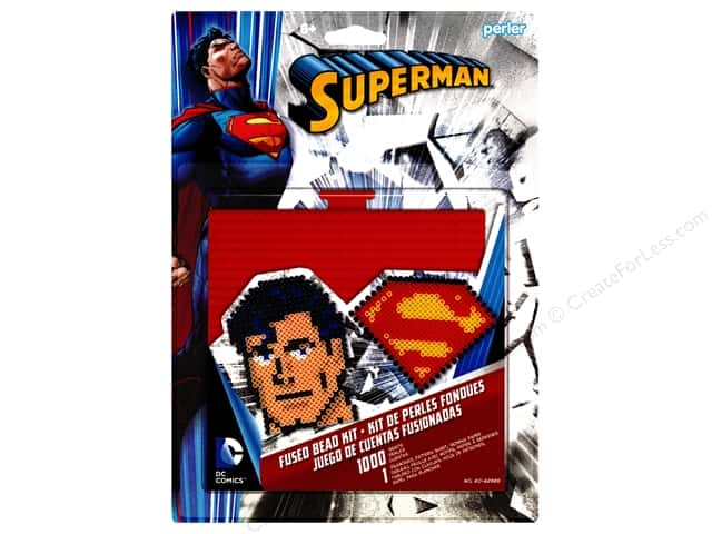Perler Fused Bead Kit Large Superman