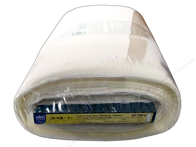 "Pellon Stabilizer Flex Foam 2-Sided Fusible 20""x 10yd White (10 yards)"