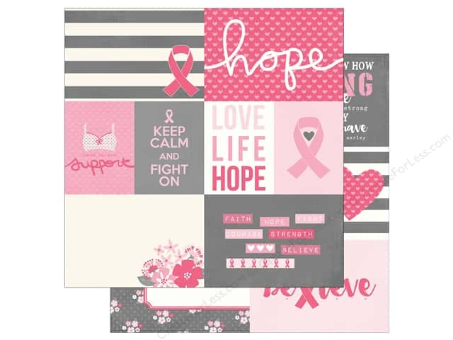 Simple Stories 12 x 12 in. Paper Hope Element 1 (25 sheets)