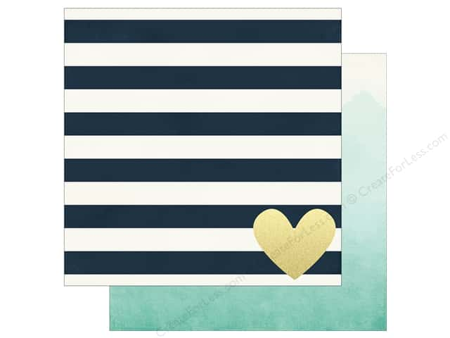 Simple Stories 12 x 12 in. Paper Heart Forever In My Heart (25 sheets)