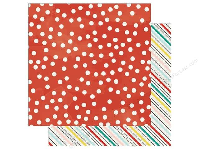 "Simple Stories Collection Life In Color Paper 12""x 12"" Love This Life (25 sheets)"