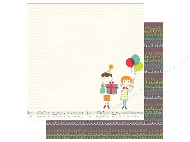 Simple Stories 12 x 12 in. Paper Let's Party Its Your Day (25 sheets)