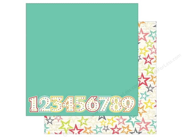 Simple Stories 12 x 12 in. Paper Let's Party Make A Wish (25 sheets)