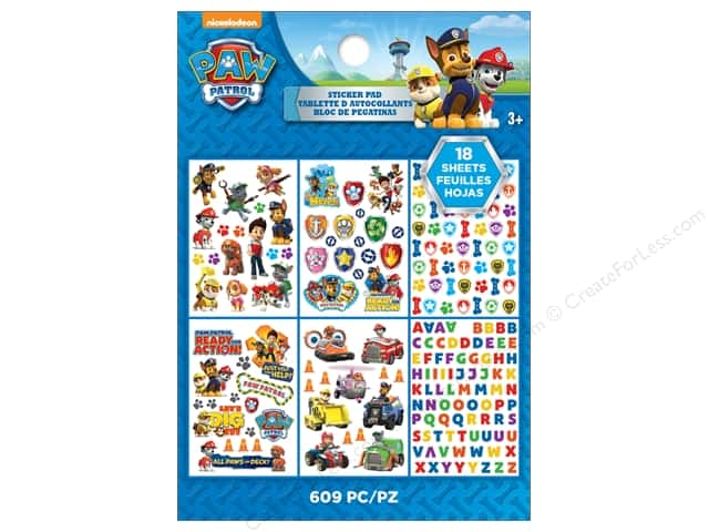 EK Success Nickelodeon Sticker Paw Patrol Pad