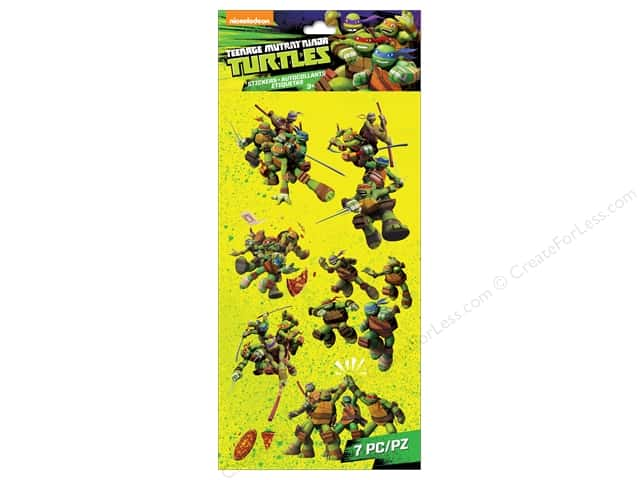 EK Success Nickelodeon Sticker Teenage Mutant Ninja Turtles Group