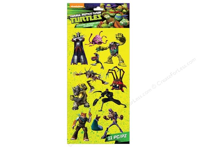 EK Success Nickelodeon Sticker Teenage Mutant Ninja Turtles Villains