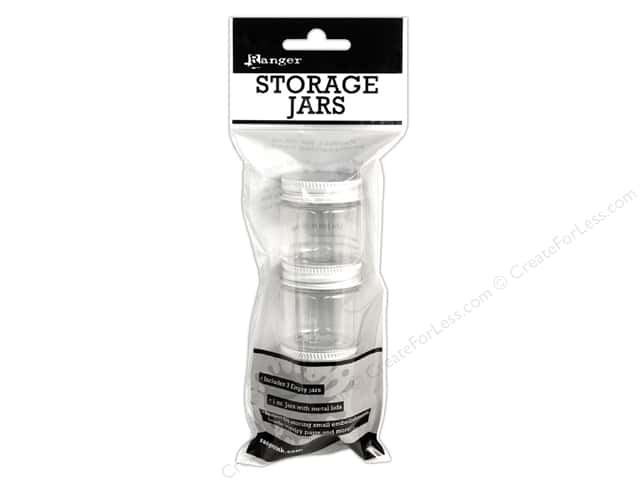 Ranger Essentials Storage Jars 1oz 3pc