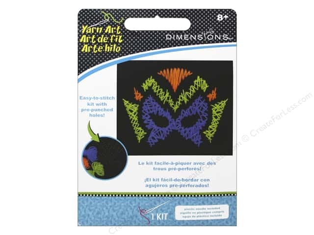 Dimensions Felt Art Kit Hero Mask