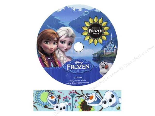 Simplicity Ribbon Grosgrain Disney Frozen Olaf Flower
