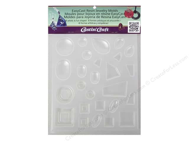 castin 39 craft reusable mold jewelry 8 shapes createforless