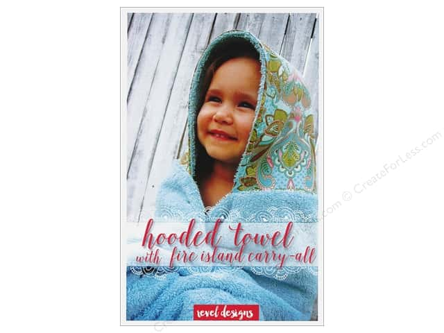 Revel Designs Hooded Towel With Fire Island Carry-All Pattern