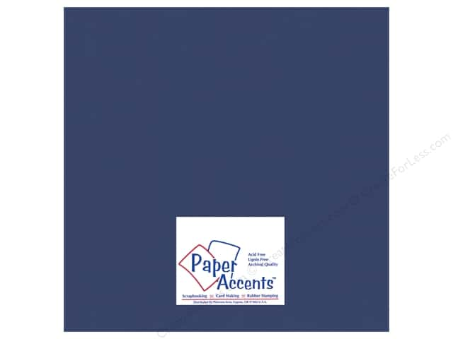 Paper Accents Cardstock 12 x 12 in. #18044 Smooth Great Lakes (25 sheets)