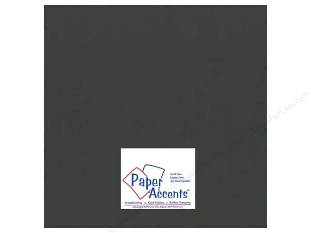 Cardstock 12 x 12 in. Smooth Pine Needle by Paper Accents (25 sheets)