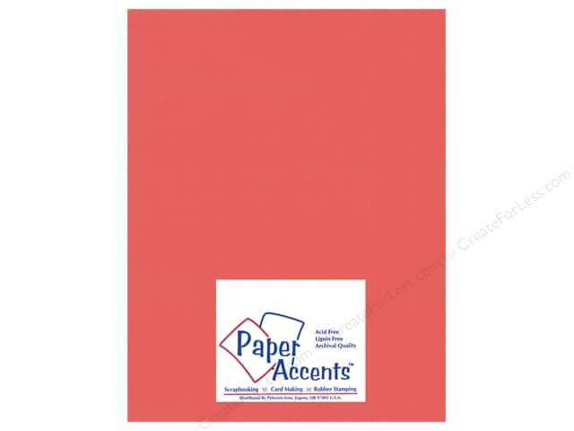 Paper Accents Cardstock 8 1/2 x 11 in. #18007 Smooth Passionate (25 sheets)