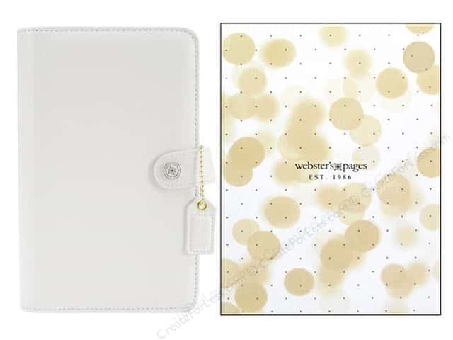 Webster's Pages Color Crush A5 Binder White