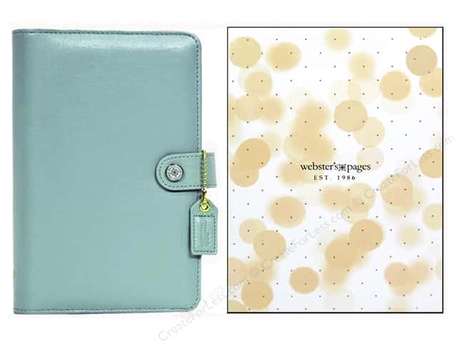 Webster's Pages Color Crush A5 Binder Light Teal