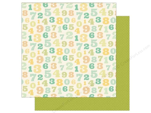 Carta Bella 12 x 12 in. Paper It's A Boy Counting Numbers (25 sheets)