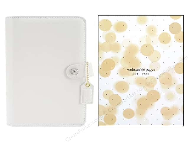 Webster's Pages Color Crush 2016 A5 Planner Kit White