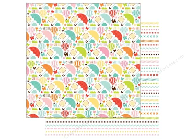 Echo Park 12 x 12 in. Paper Spring Collection Hello Spring (25 sheets)