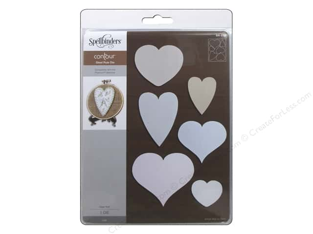 Spellbinders Steel Rule Die Heart Felt