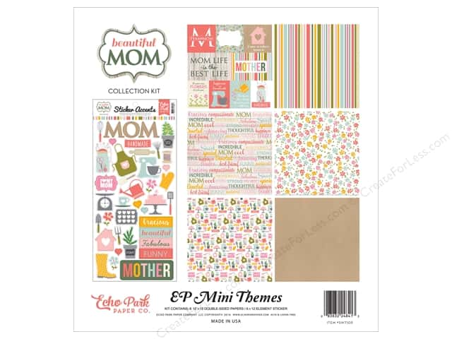 Echo Park 12 x 12 in. Collection Kit Beautiful Mom