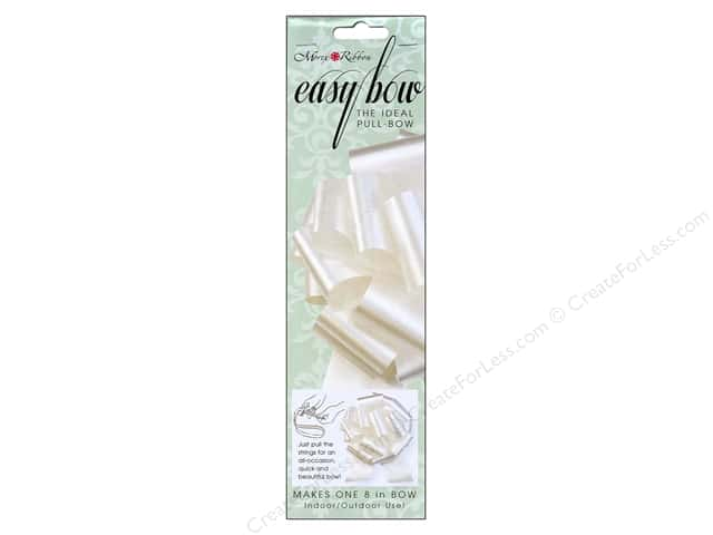 Morex Easy Bow 8 in. Ivory