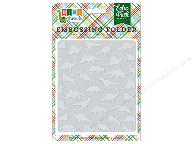 Echo Park Collection Dino Friends Embossing Folder Dinosaurs