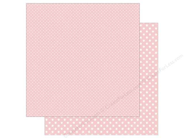 Echo Park 12 x 12 in. Paper Dots & Stripes Summer Cherry Sorbet (25 sheets)