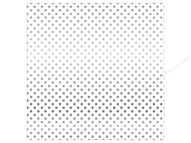 Carta Bella 12 x 12 in. Paper Dots Vellum Silver (15 sheets)