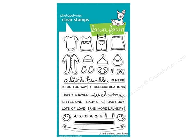 Lawn Fawn Clear Stamp Little Bundle